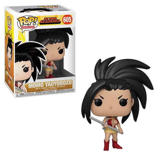 Funko Pop Animation : My Hero Academia : MOMO YAOYOROZU #605 Vinyl Figure