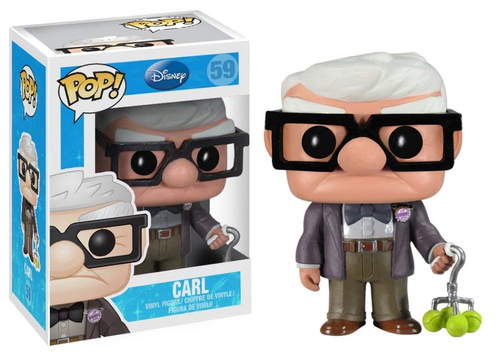 Funko Pop - Disney Movie Up Carl Vinyl Figure with protector Case