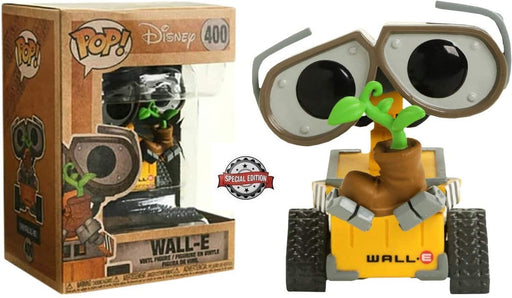 Funko Pop - Disney Wall E with Plants Vinyl Figure #400 Special Edition Exclusive with Recycle box