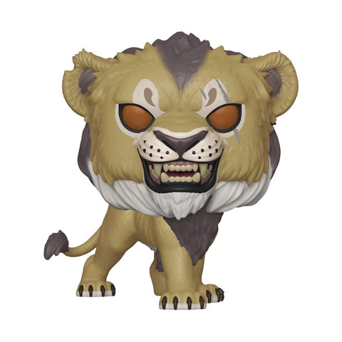 Funko Pop Disney Lion King (Live Action) - Scar #548 Vinyl Figure with .5mm protector case
