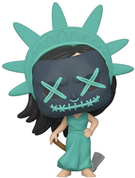 Funko Pop! Movies The PURGE Election Year Lady Liberty #807 Vinyl Figure