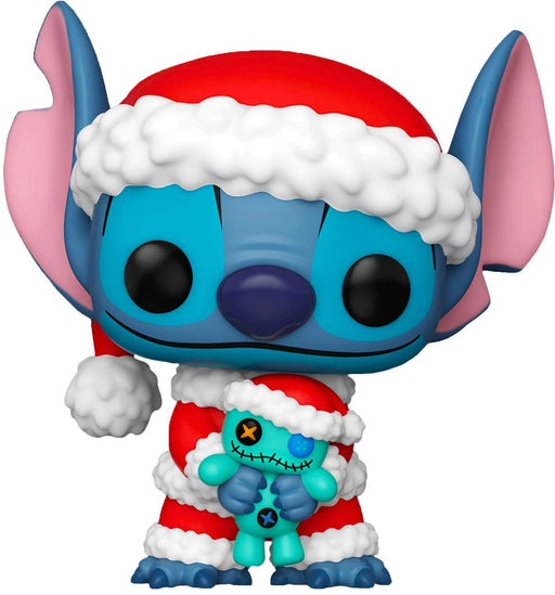 Funko Lilo & Stitch POP! Disney Santa Stitch Vinyl Figure [with Scrump] Hot Topic Exclusive