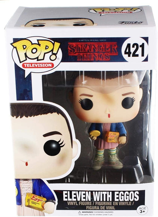 Funko Pop! Television: Stranger Things Eleven with Eggos Vinyl Figure #421