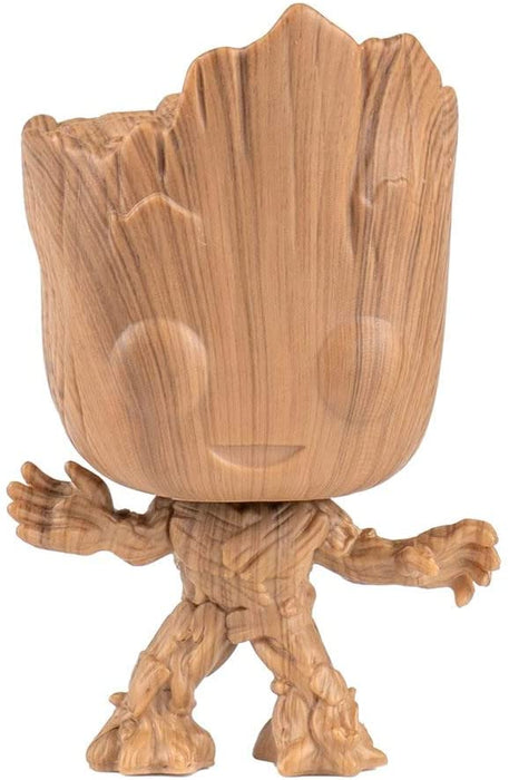 FUNKO POP! GUARDIANS OF THE GALAXY - GROOT WOOD DECO VINYL FIGURE ENTERTAINMENT EARTH EXCLUSIVE