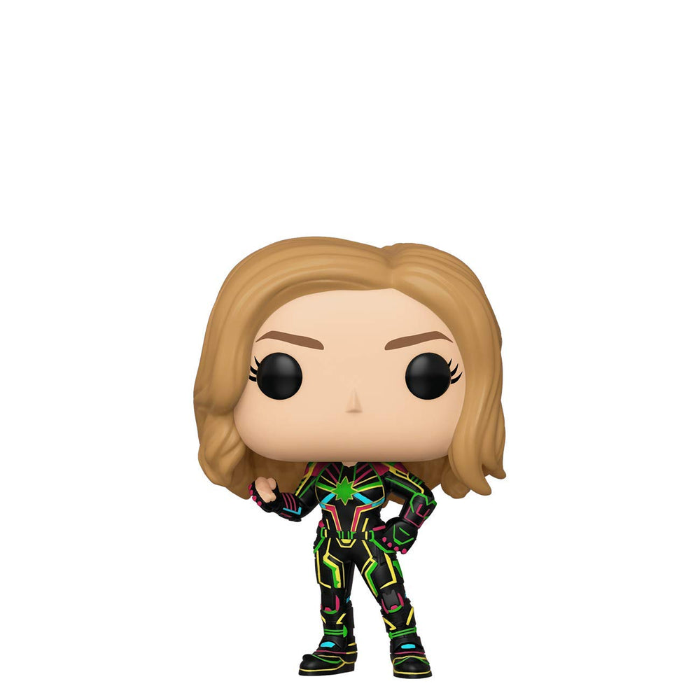 Funko Pop! Marvel: Captain Marvel - Captain Marvel with Neon Suit