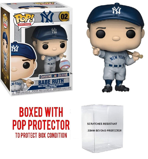 Funko Sports MLB Baseball Legends: New York Yankee Babe Ruth Pop! Vinyl Figure #02