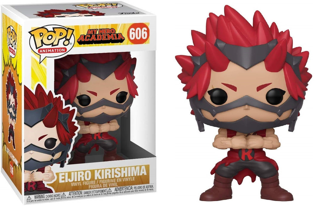 Funko Pop! Animation: My Hero Academia - Kirishima Vinyl Figure #606