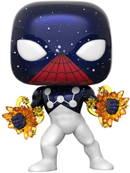 Marvel Spider-Man Captain Universe Pop! Vinyl Figure - Entertainment Earth Exclusive