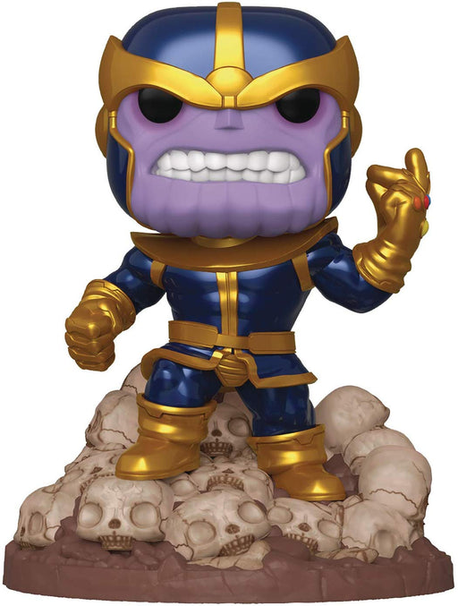 "Funko Pop! Pop! Marvel Heroes: Thanos Snap 6"" Deluxe Vinyl Figure"