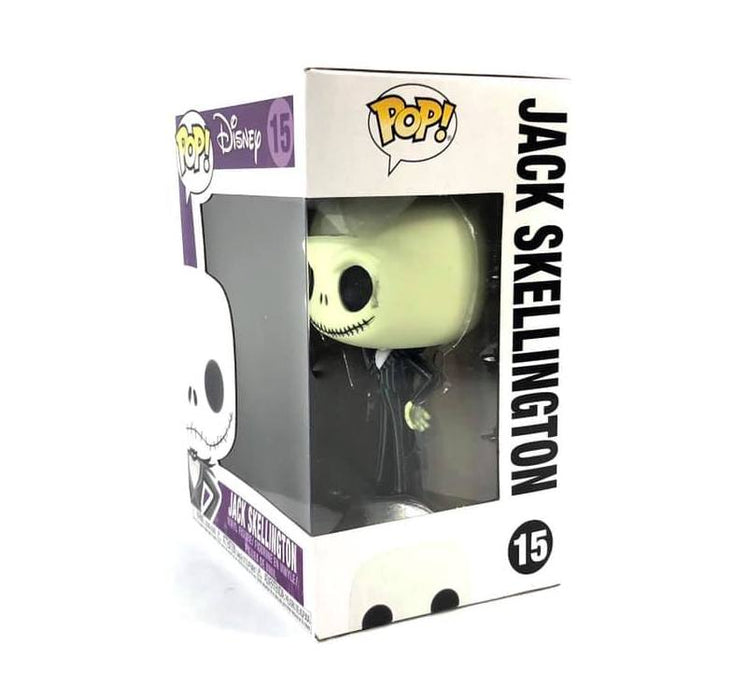 Pop! Disney: Nightmare Before Christmas - Jack Skellington #15 with protector Case