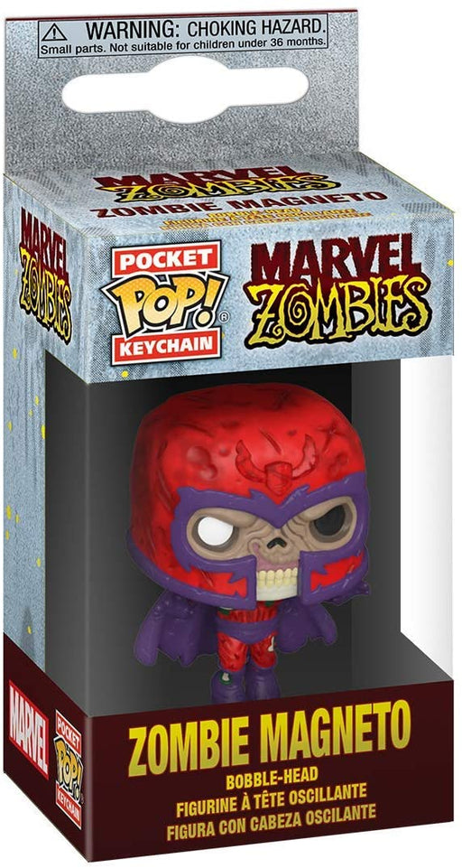 Funko Pop! Keychain: Marvel Zombies - Magneto Figure