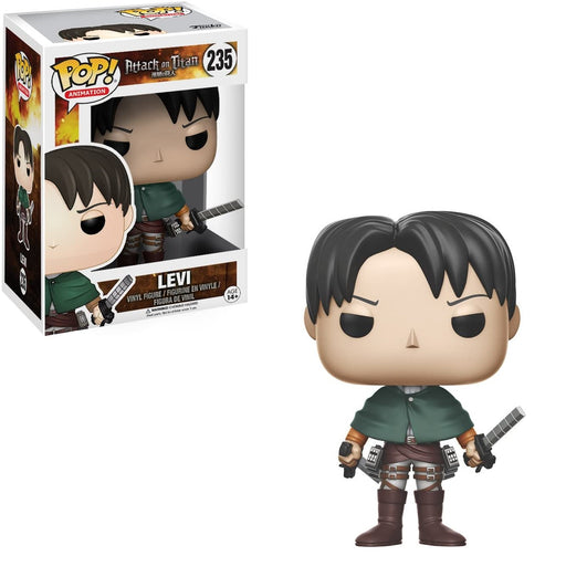 Funko POP! Anime Attack on Titan Levi Ackerman Vinyl Figure #235