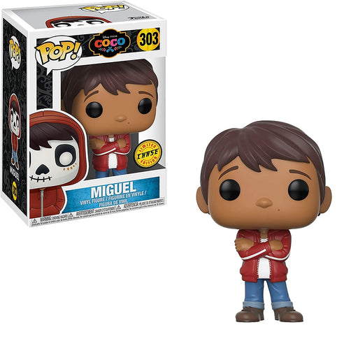 Funko POP! Disney: Coco - Miguel Vinyl Figure #303 (CHASE) Version Limited Edition!
