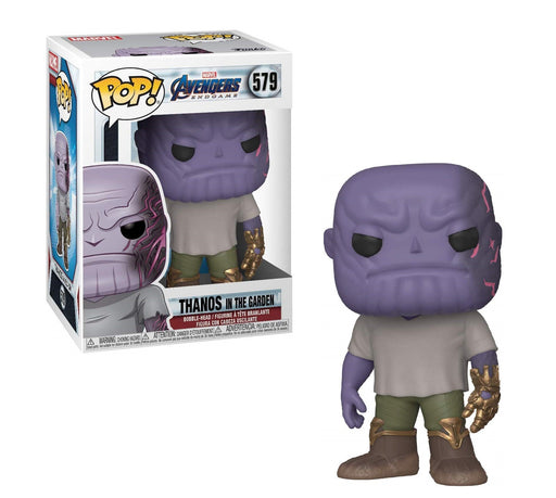 Funko Pop! Marvel: Avengers Endgame - Casual Thanos with Gauntlet Vinyl Figure
