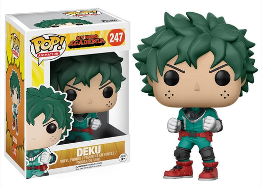 Funko Pop! Anime: My Hero Academia - Deku Vinyl Figure #247