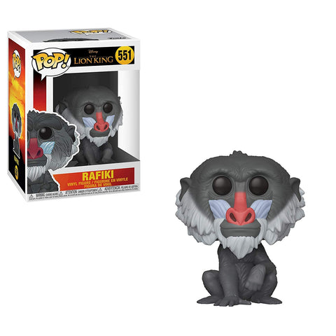 Funko Pop Disney Lion King (Live Action) - Rafiki #551 Vinyl Figure with .5mm protector case