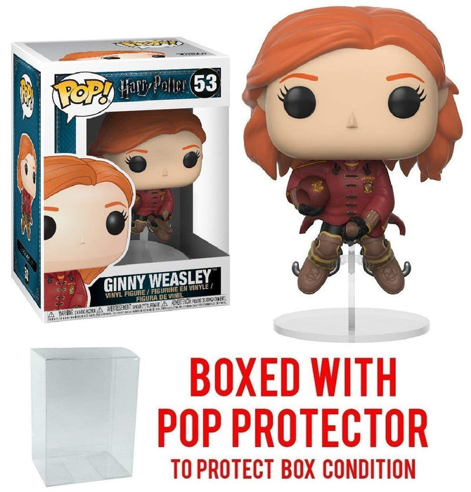 Pop! Movie: Harry Potter - Ginny Weasley # 53 Vinyl Figure with protector case