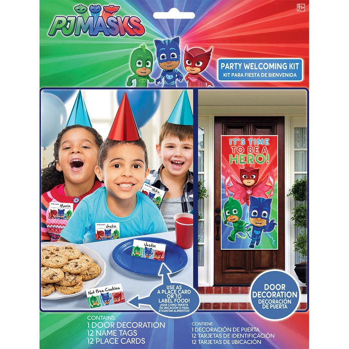PJ Masks Birthday Party Welcoming Kit (25 ct) Party Supplies