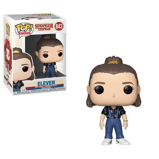 Funko Pop! Television: Stranger Things  - Eleven #843 Vinyl Figure w/ POP Protector