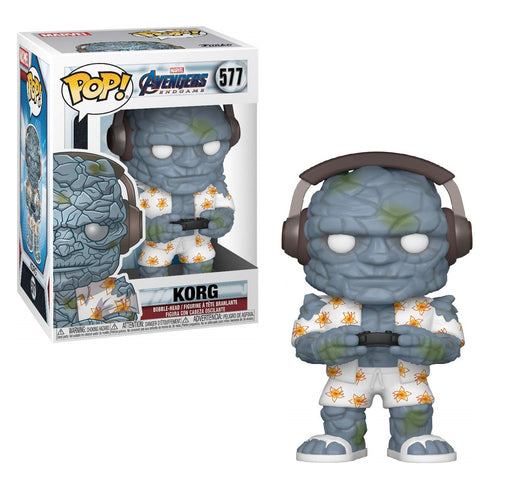 Funko Pop! Marvel: Avengers Endgame - Gamer Korg Vinyl Figure