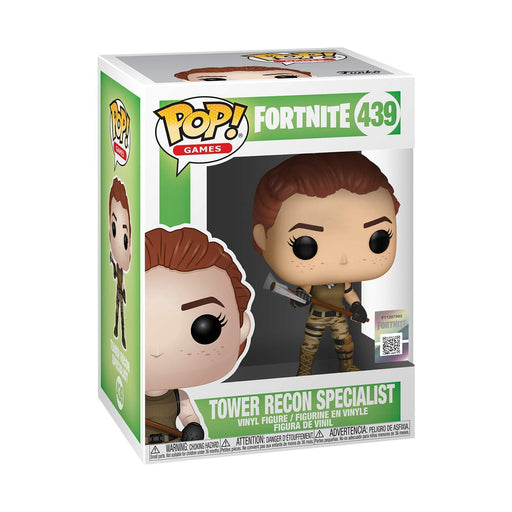 Funko Pop Games : Fortnite : Tower Recon Specialist #439 Vinyl Figure with .5 mm Protector Case