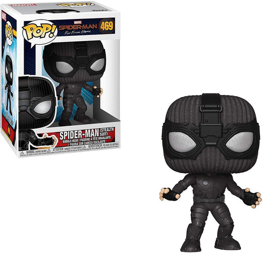 Funko Pop! Marvel: Spider-Man Far from Home - Stealth Suit Spider-Man Vinyl Figure