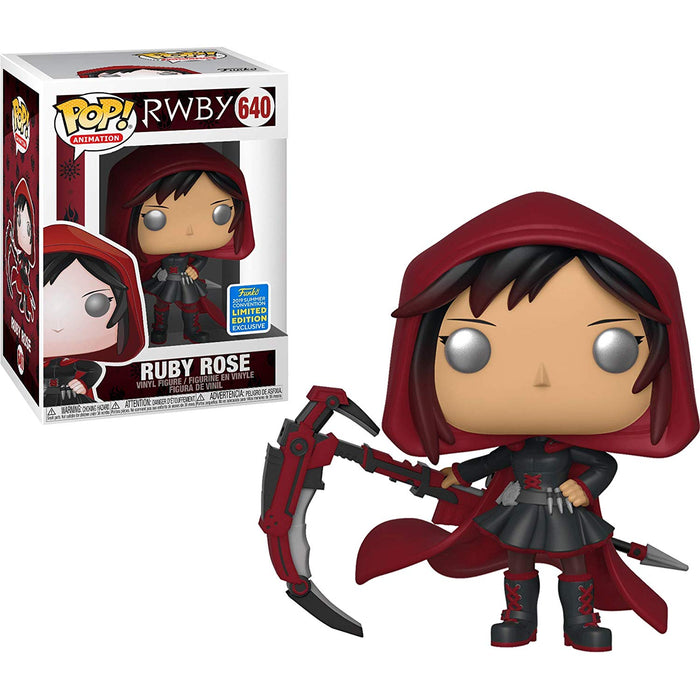 Pop SDCC 2019 - Animation RWBY Ruby Rose Vinyl Figure #640 Shared Sticker