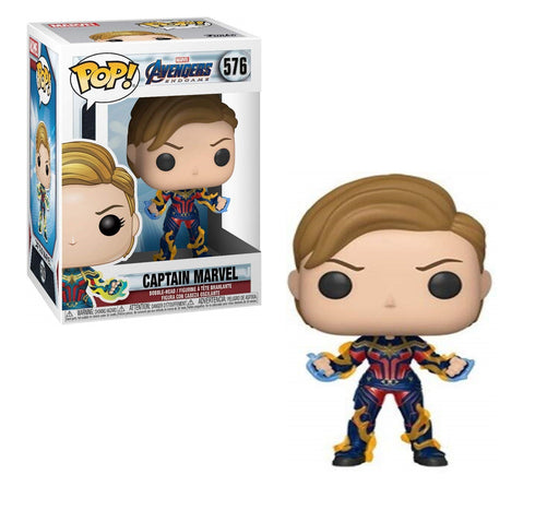 Funko Pop! Marvel: Avengers Endgame - Captain Marvel with New Hair Vinyl Figure