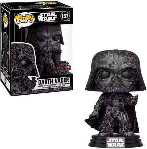Funko Pop Star Wars Futura : Darth Vader #157 Vinyl Figure Special Edition Exclusive