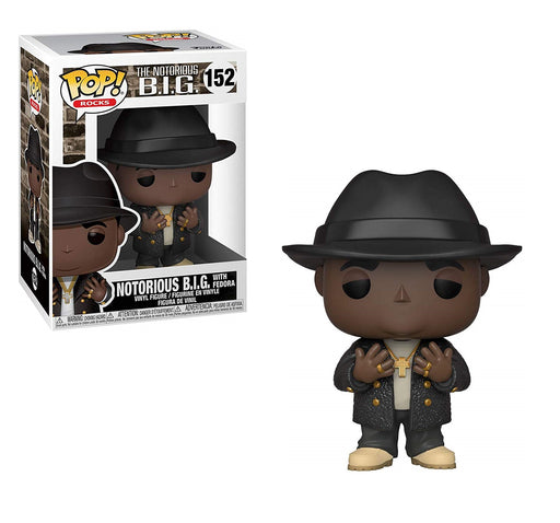 FUNKO POP! Rocks: NOTORIOUS B.I.G. with fedora Vinyl Figure #152