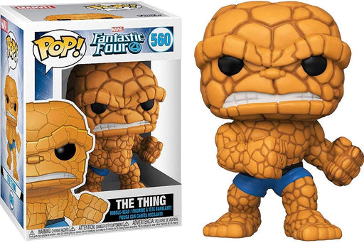 Funko Pop! Marvel: Fantastic Four - The Thing Vinyl Figure
