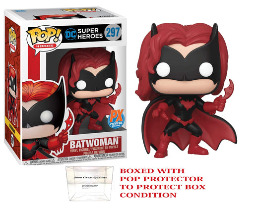 Pop DC Super Heroes : Batwoman -  PX Preview Exclusive #297 w/ Protector
