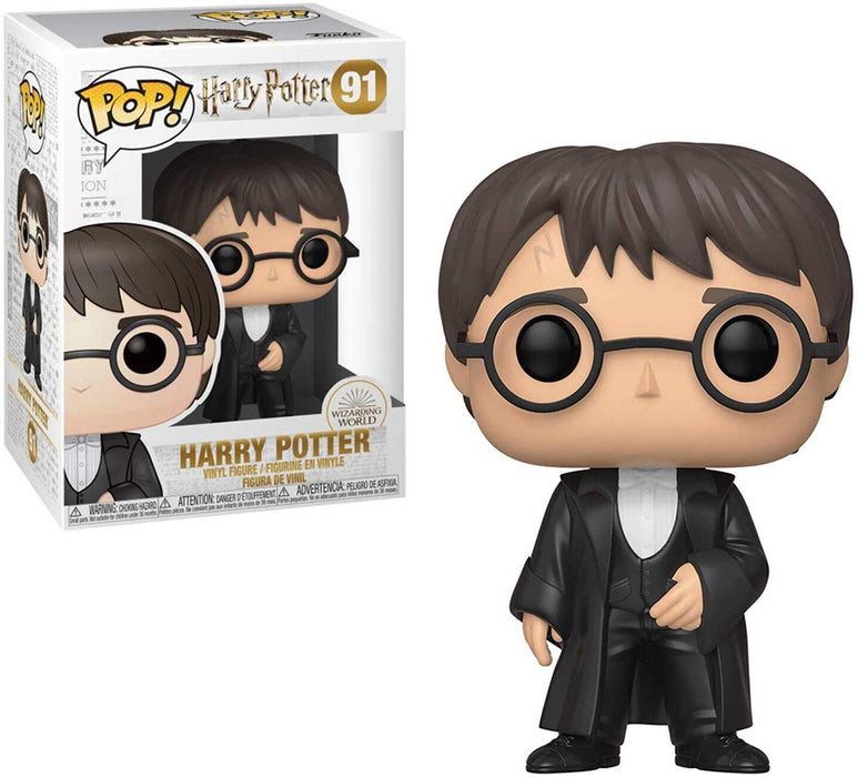 Funko Pop! Movies: Harry Potter - Harry Potter (Yule) Vinyl Figure