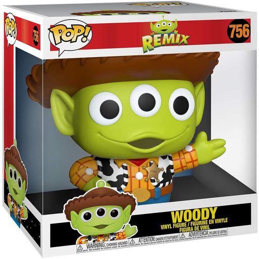 Funko Pop! Disney: Pixar Alien Remix - 10 Inch Alien as Woody Vinyl Figure