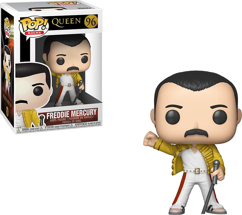 Funko Pop Rocks: QueenFreddy Mercury Wembley 1986 Vinyl Figure #96