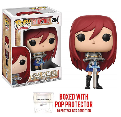 Funko POP Anime: Fairy Tail Erza Scarlet Collectible Vinyl Figure