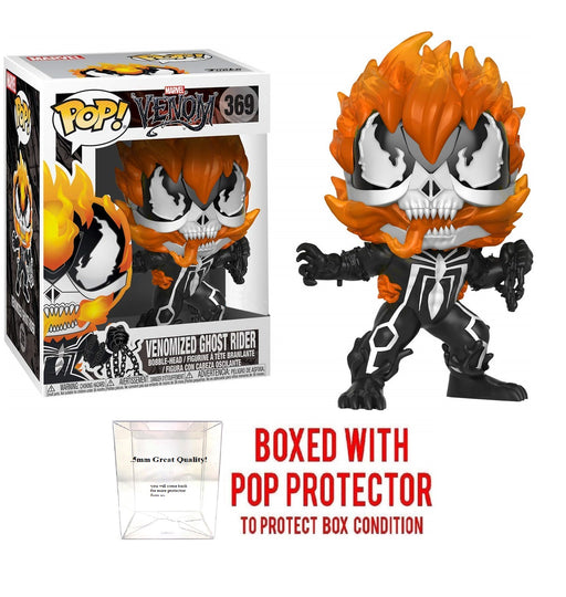 Funko Pop Marvel Venom Venomized Ghost Rider#369 Special Edition