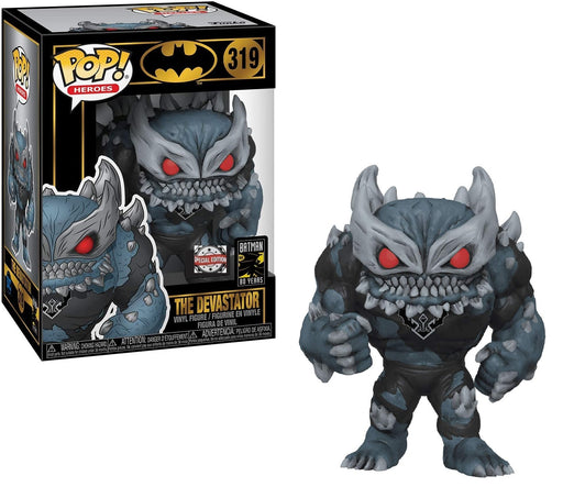 Funko Pop Batman The Devastator Exclusive Vinyl Figure #319 Fye Exclusive Special Edition Sticker