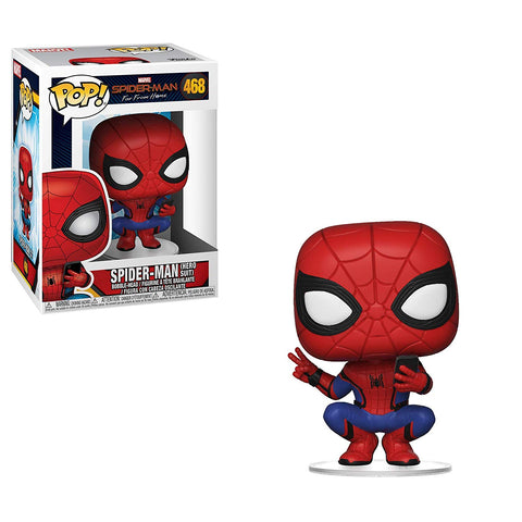 Funko Pop! MARVEL Spider-Man Far From Home SPIDER-MAN (hero suit) Vinyl Figure #468