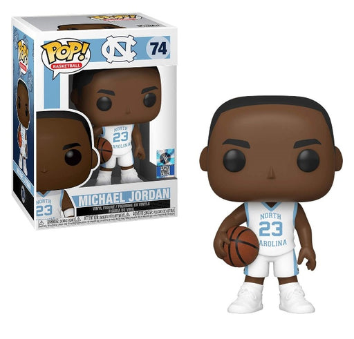 Funko POP! Basketball: UNC - Michael Jordan (Away Jersey) Vinyl Figure