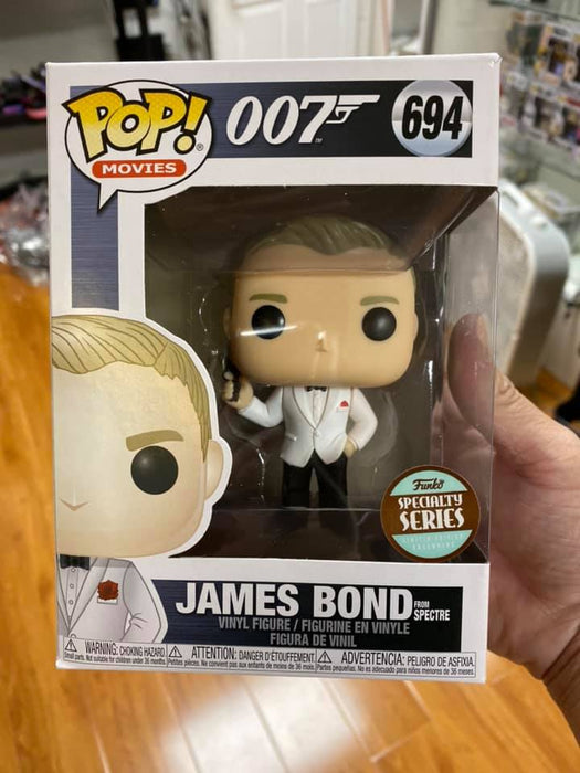 James Bond Spectre Daniel Craig Pop! Vinyl Figure - Specialty Series