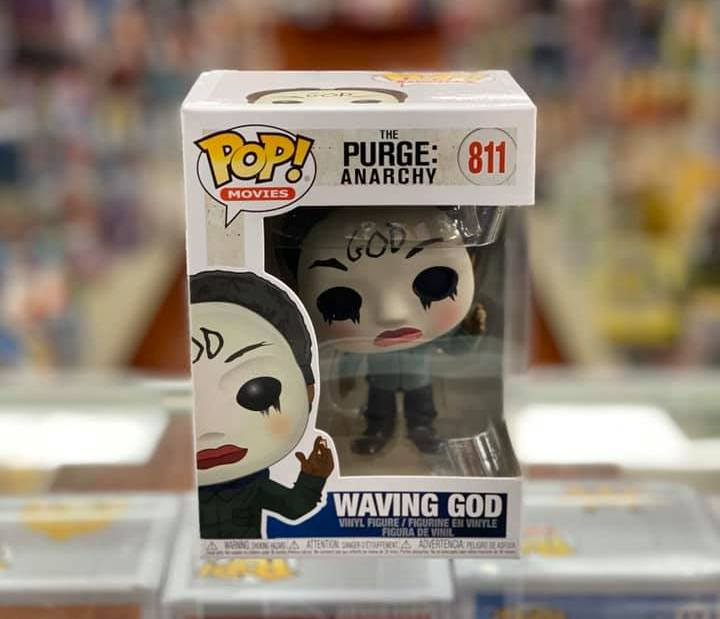 Funko Pop! Movies The PURGE Election Year Waving God #811 Vinyl Figure
