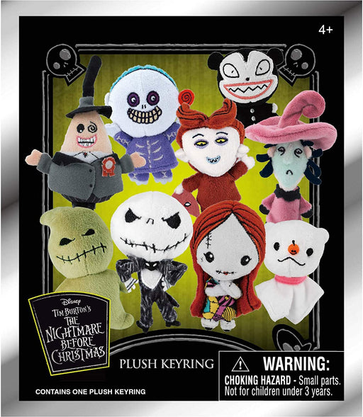 "Nightmare Before Christmas 3"" Plush Key Ring in Blind Bag"