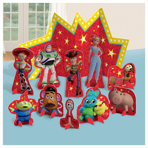 Toy Story 4 - Table Decorating Kit 11 Piece Centerpiece Party Supplies