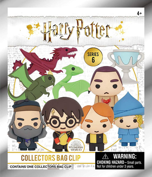 Harry Potter - 3D Figural Keyring Blind Bag (Series 6)