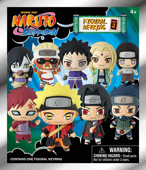 Naruto Shippuden: 3-D Figural Key Chain Blind Bag - Series 2