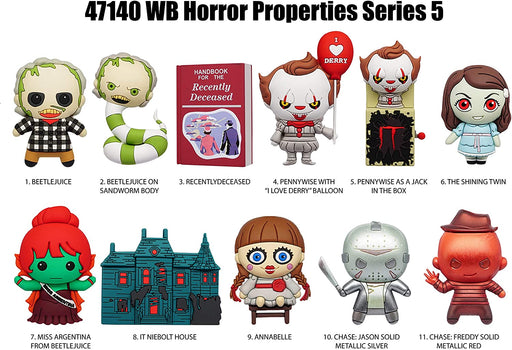 Horror Properties 3-D Foam Figural Bag Clip Blind Bag - Series 5