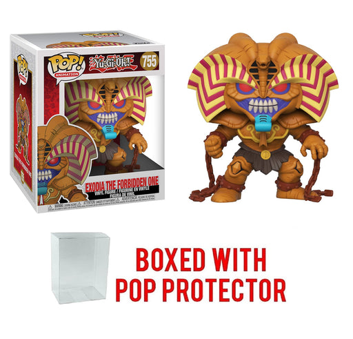 "Funko Pop! Pop! Anime Yu-Gi-Oh: Exodia The Forbidden One 6"" Deluxe Vinyl Figure with Protector"