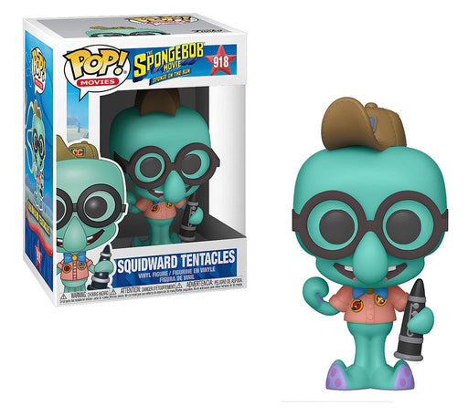 Funko Pop! Animation: Spongebob Movie - Squidward in Camping Gear