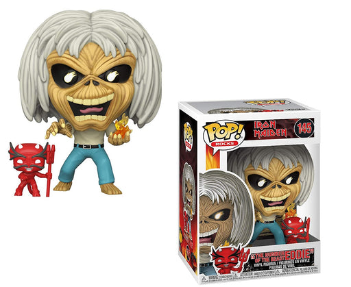 The Number of The Beast Eddie: Funk o Pop! Rocks Vinyl Figure